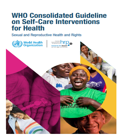 WHO consolidated guideline on self-care interventions for health