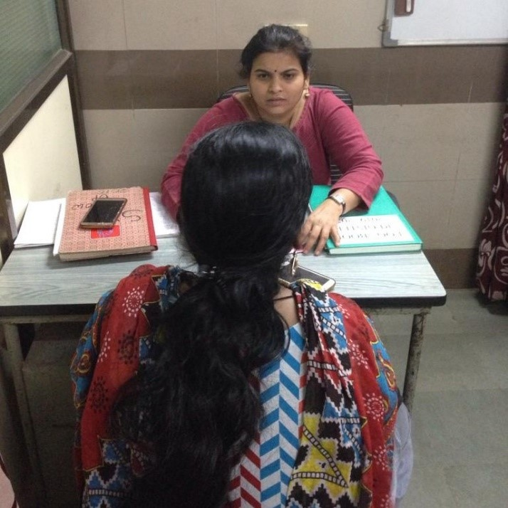 Counselling department at a Dilaasa centre in Mumbai